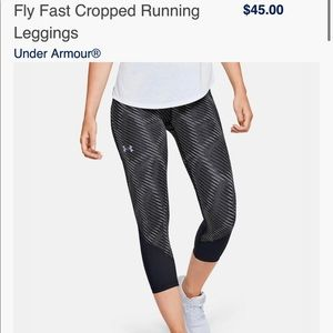 Nearly new Under Armour legging
